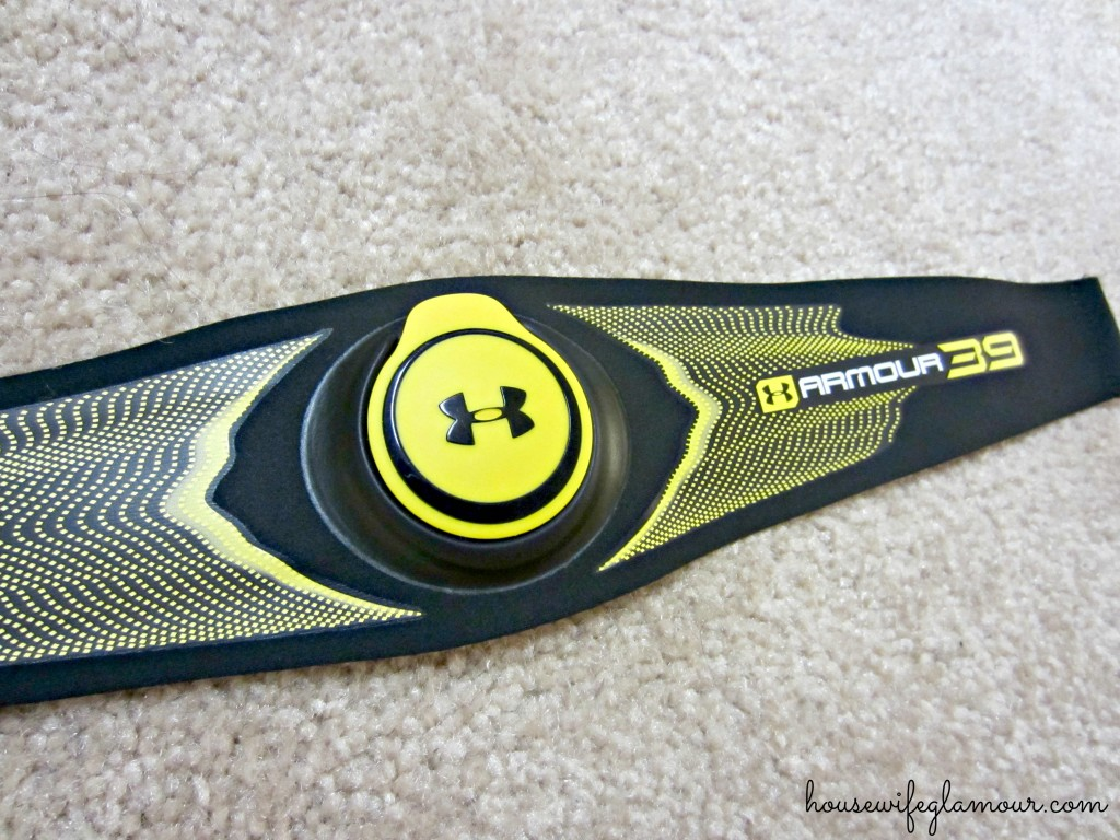 armour39 heart rate monitor strap