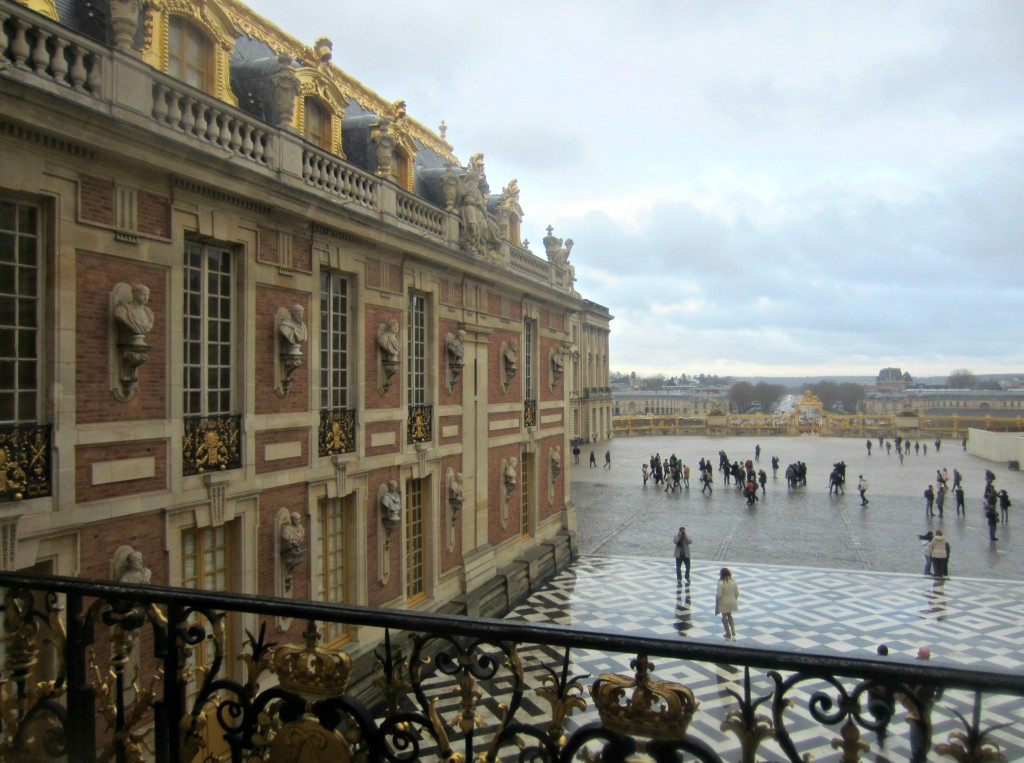chateau versailles window view