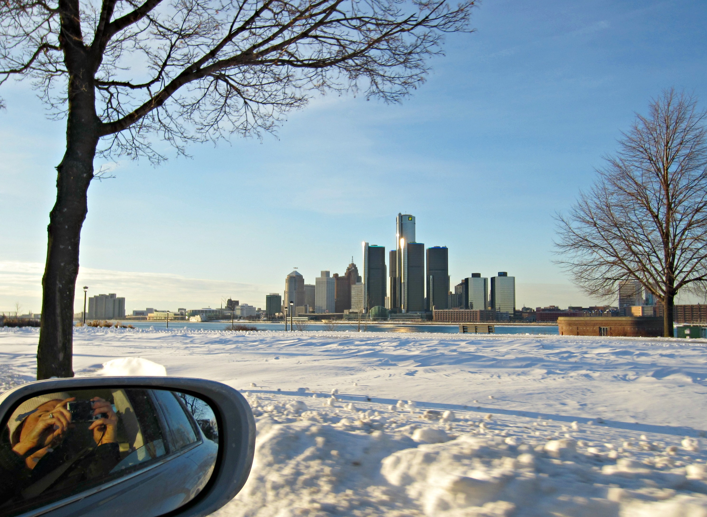 detroit skyline from windsor