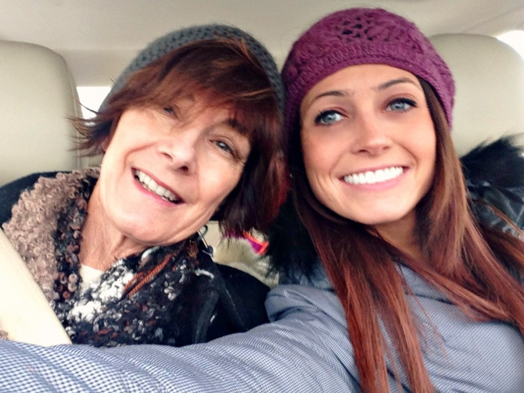 driving with mom