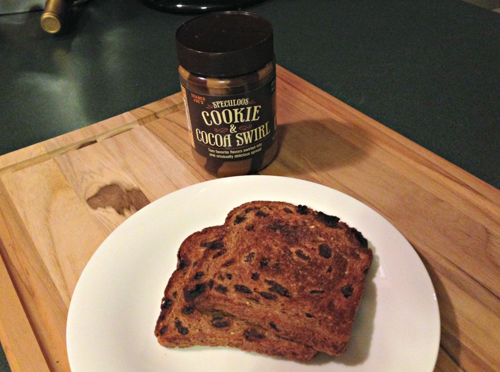 ezikiel toast and cookie butter