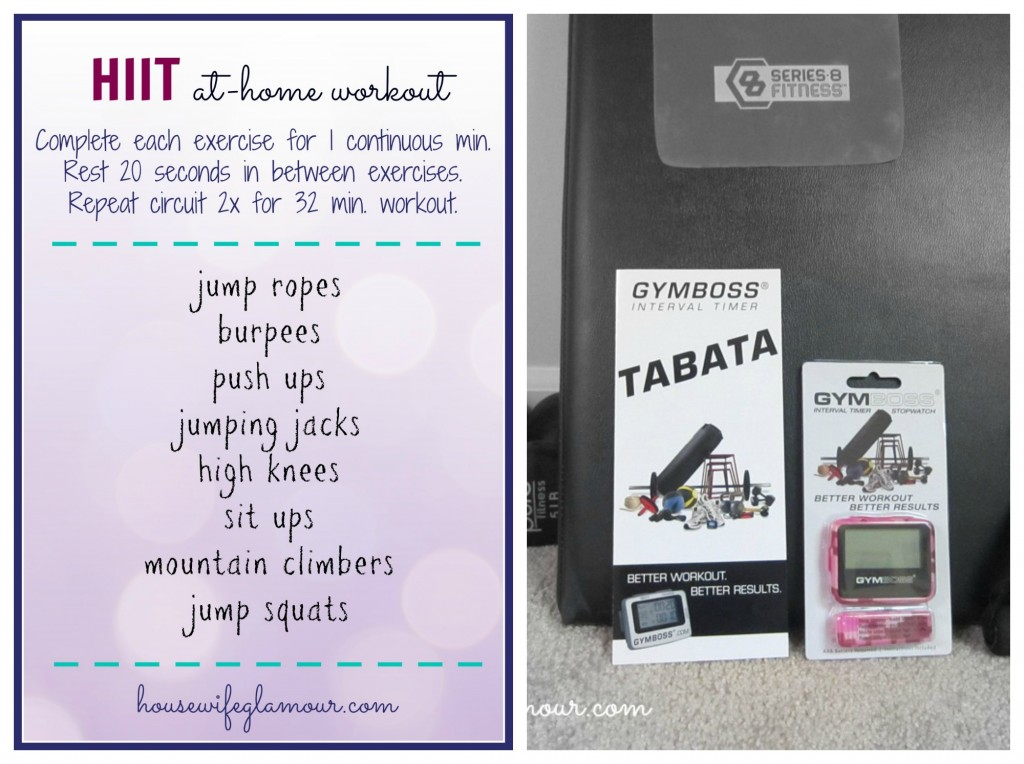 interval timer giveaway and workout
