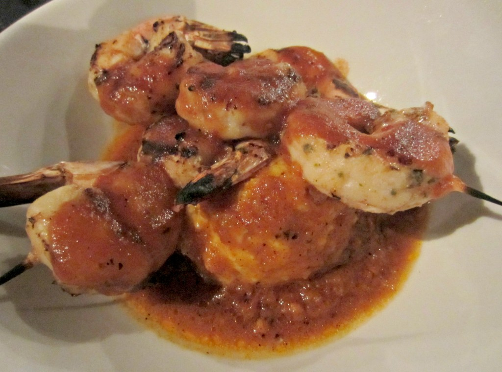 jazz'd tapas bar savannah bbg shrimp and grits