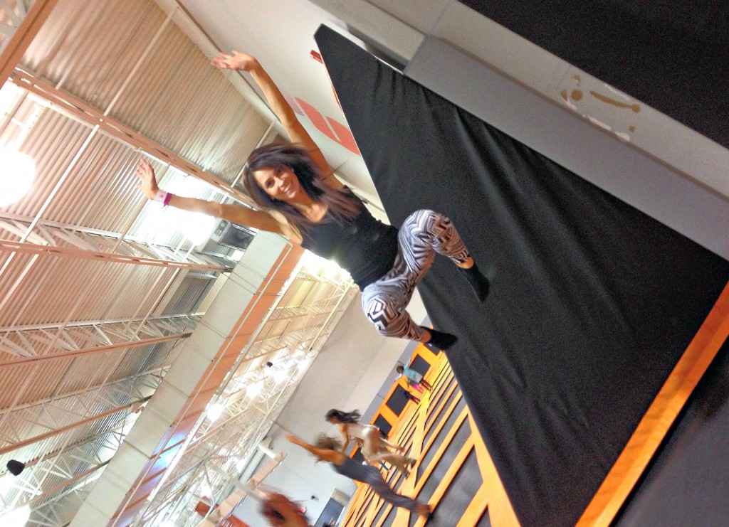 jumping at airtime trampoline park