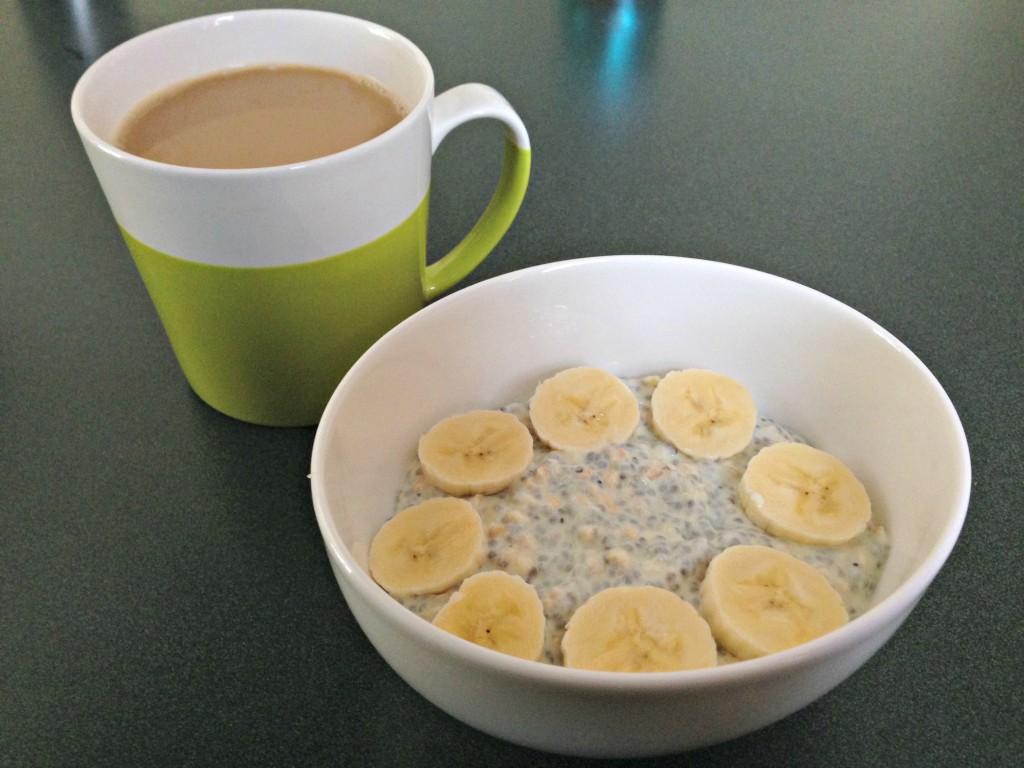 overnight oats for breakfast