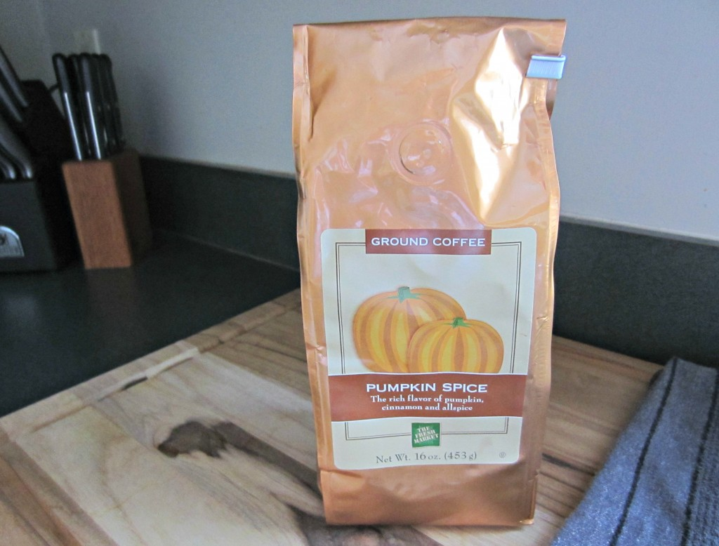 pumpkin spice coffee fresh market