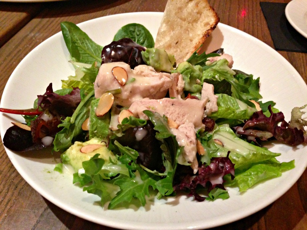 rocks chicken salad