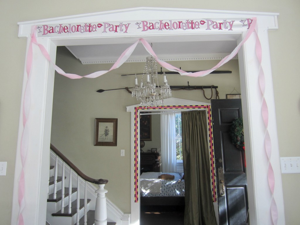 savannah house bachelorette decorations