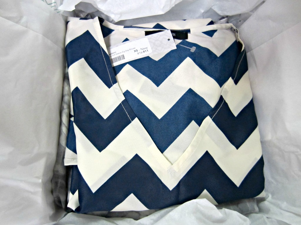 stitch fix chevron top