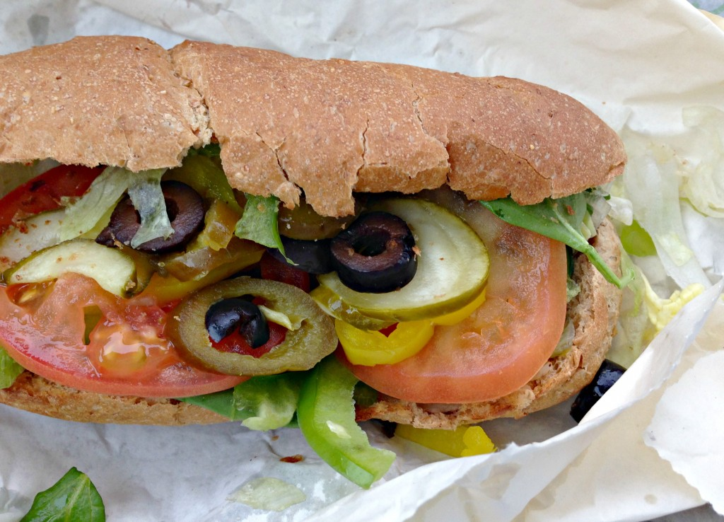 subway healthy 6 inch