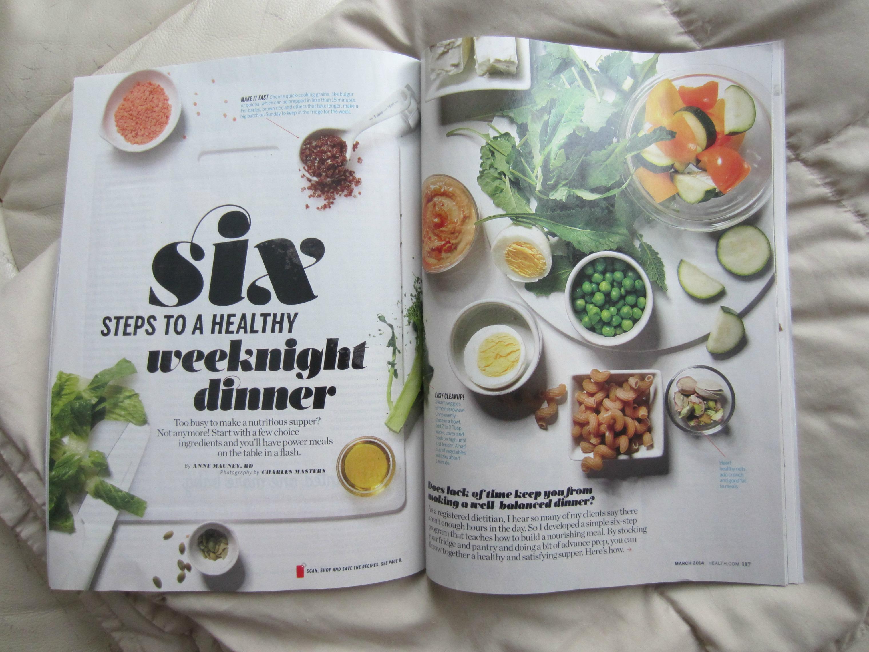 Health Magazine Anne Mauney