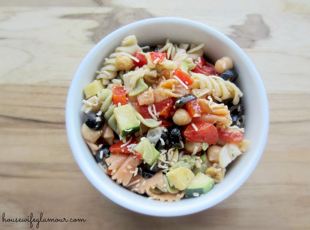 Healthy Vegetable Pasta Salad