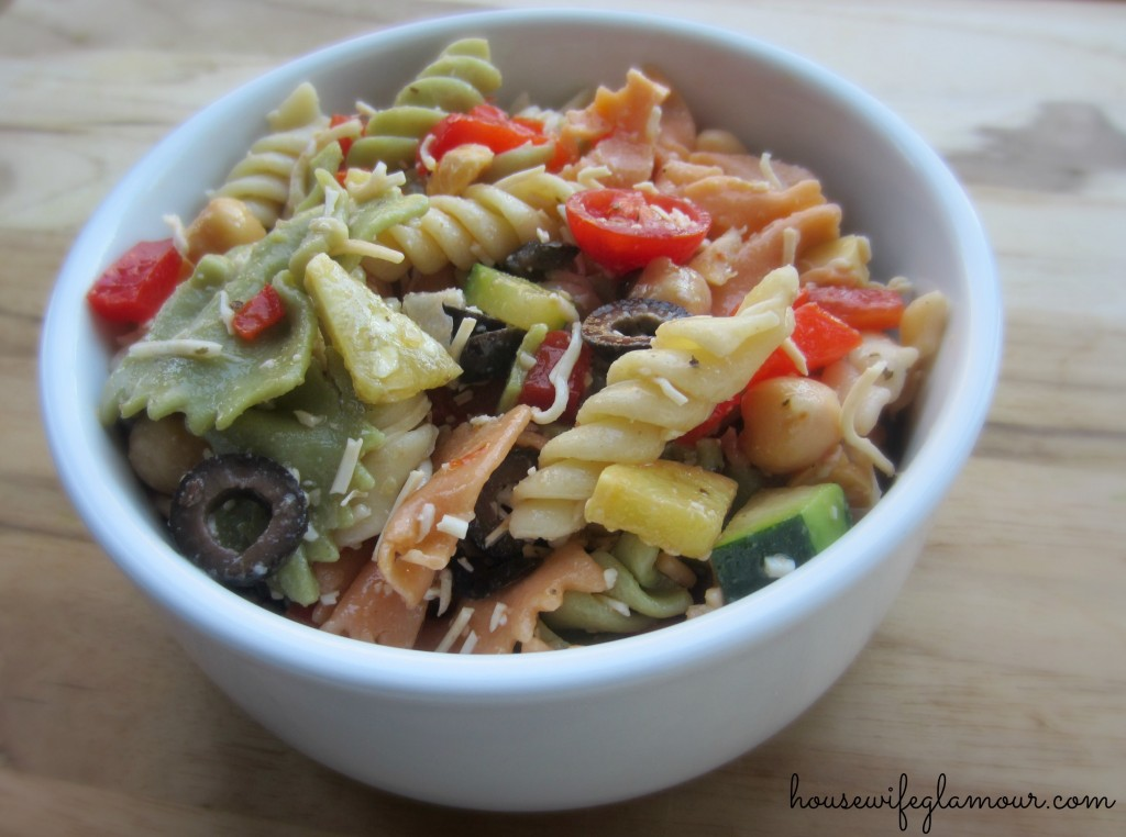 Light and Healthy Pasta Salad Recipe