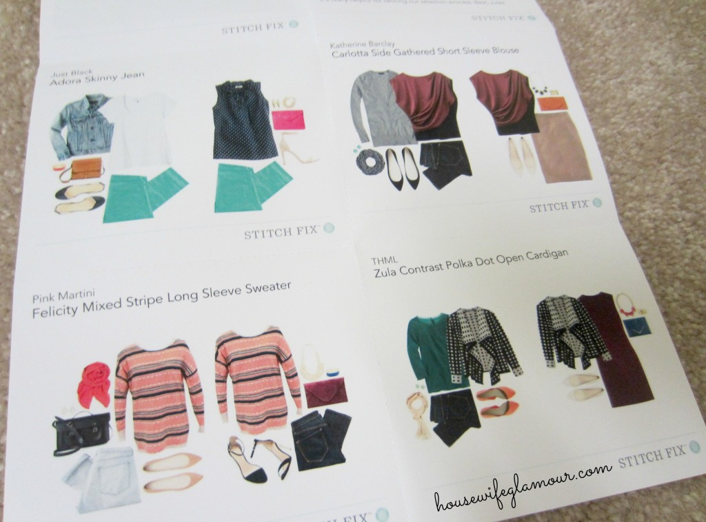 Stitch Fix January 2014 Fashion