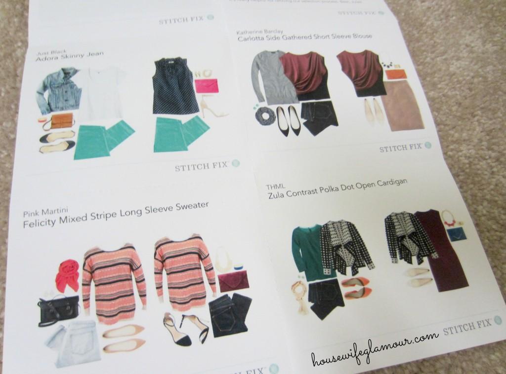 Stitch Fix January 2014 Fashion
