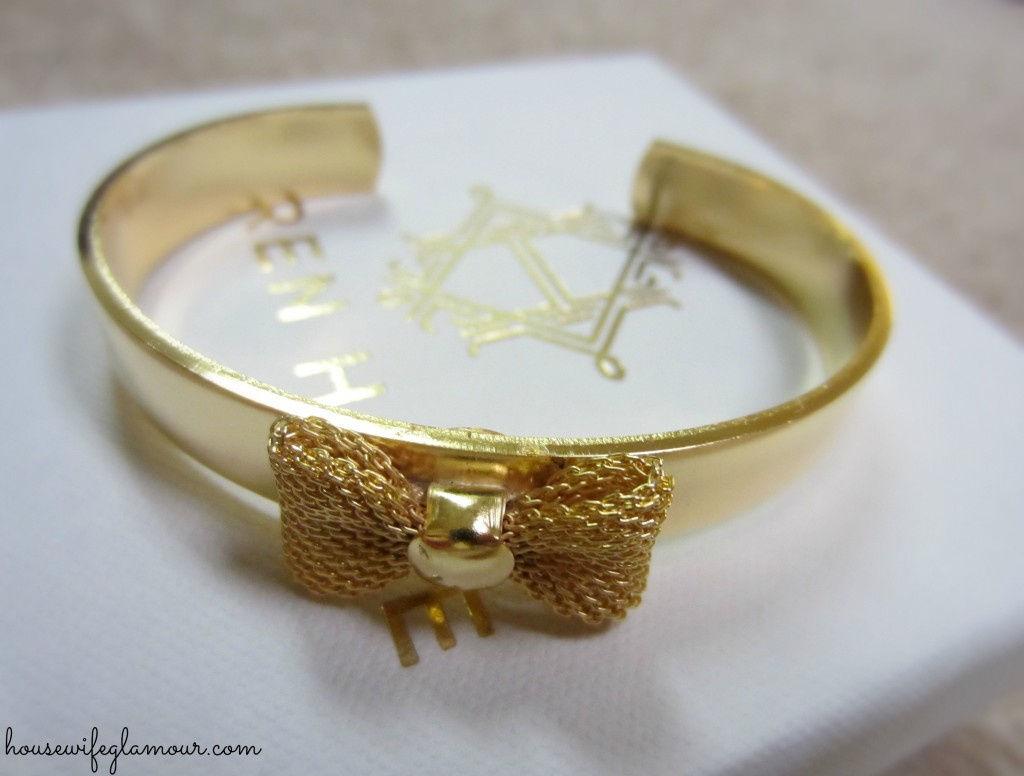 Stitchfix gold bracelet accessory