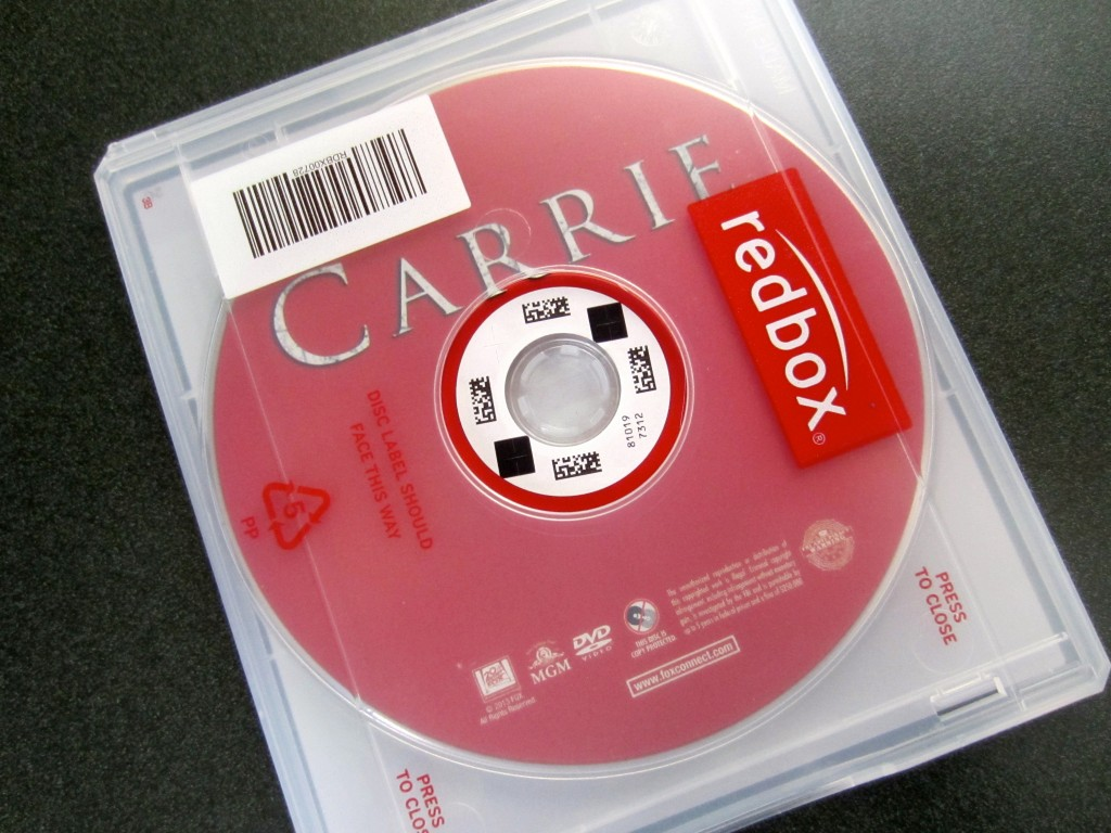carrie on redbox
