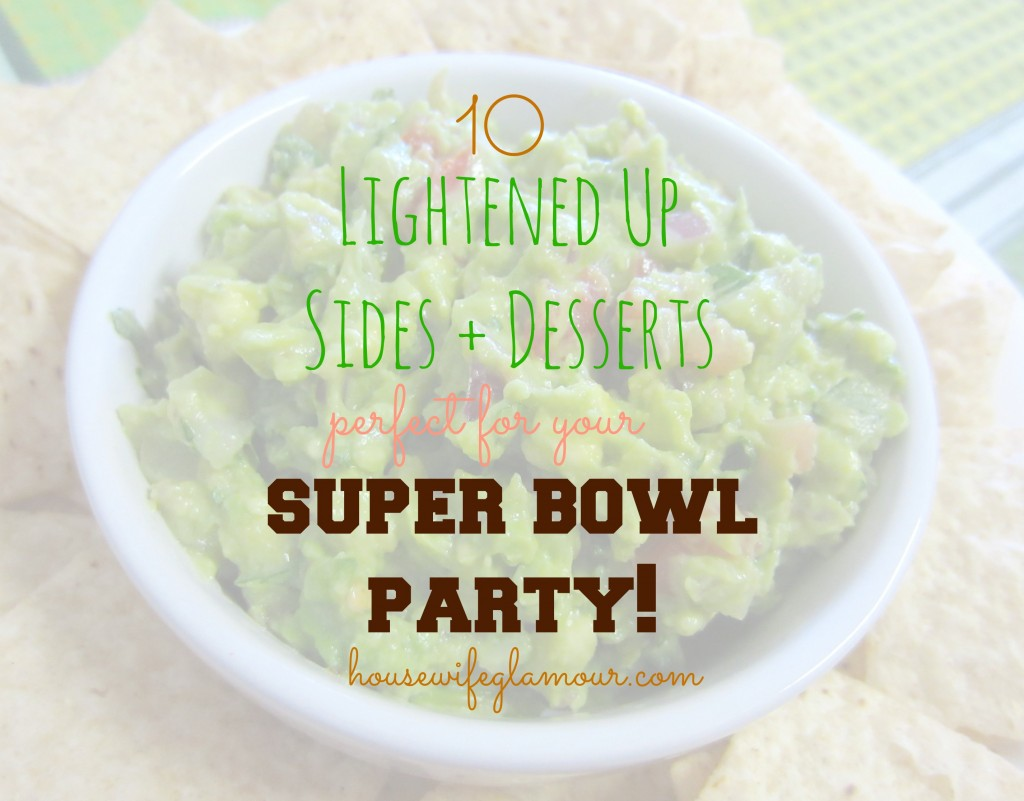 healthy super bowl party sides