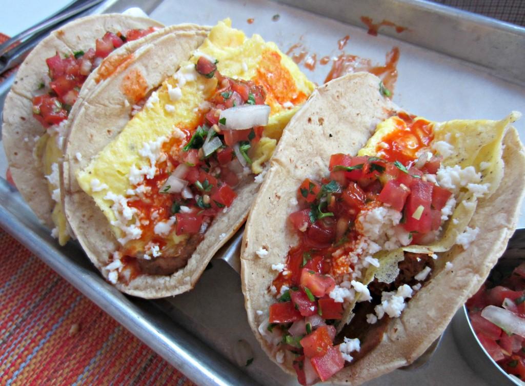 social egg tacos