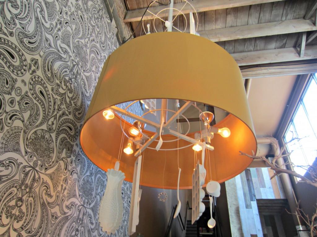 social restaurant lamp