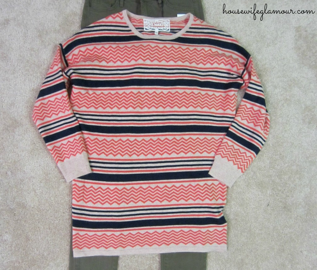 stitchfix pink martini oversized sweater