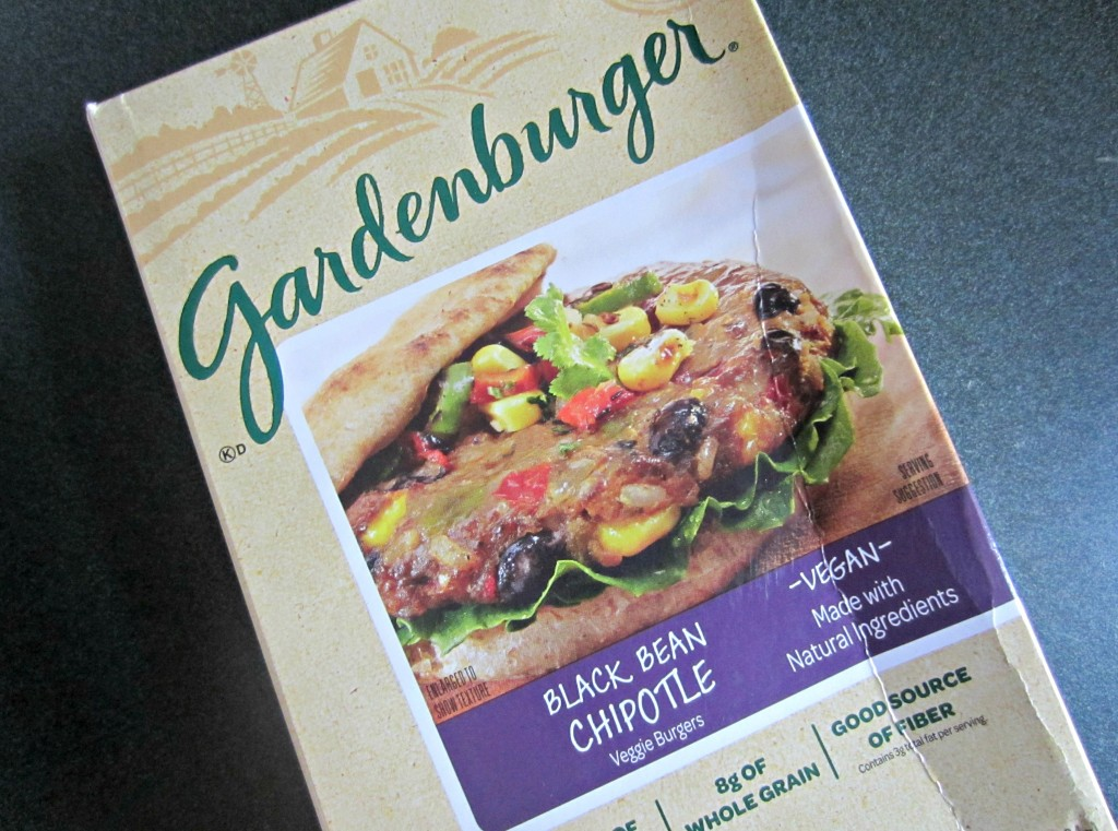 Gardenburger black bean chipolte