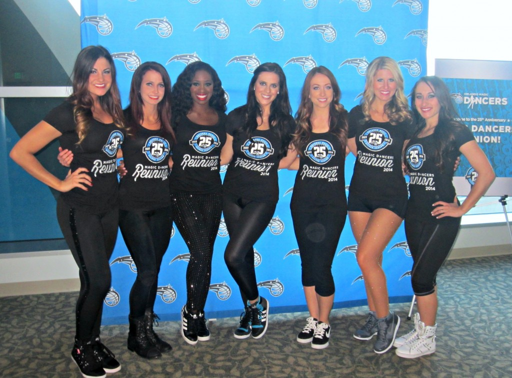 Orlando Magic Dancer Reunion Reception