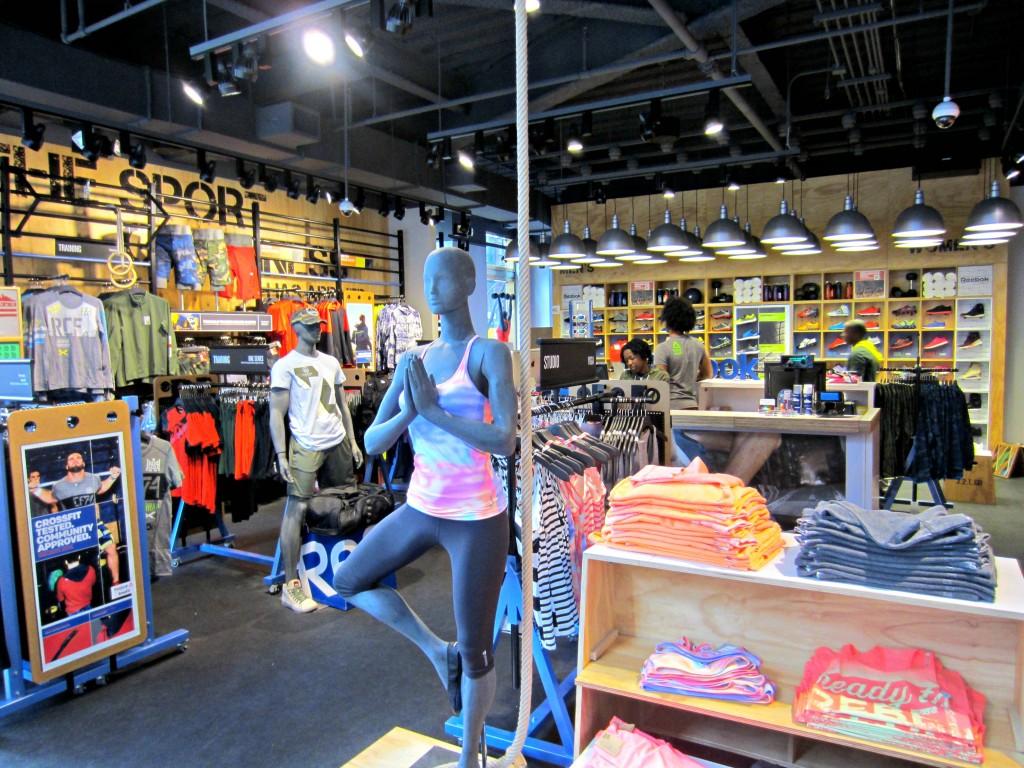 Reebok FitHub 5th Avenue store