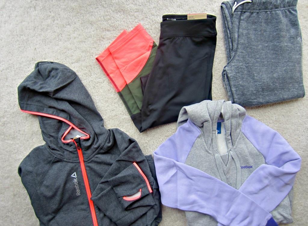 Reebok pants and sweats