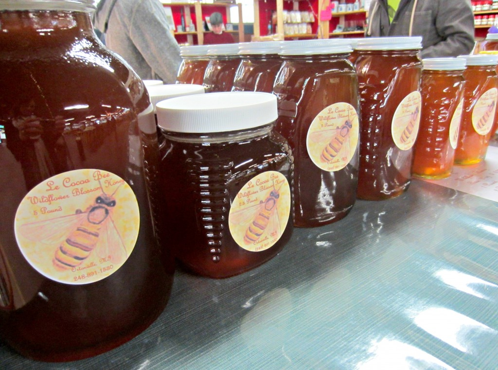 Royal Oak Farmers Market honey