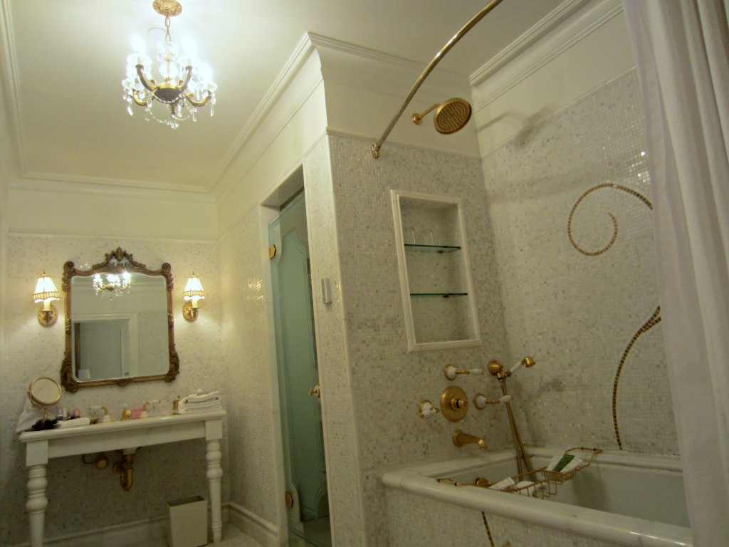 The Plaza Hotel bathroom