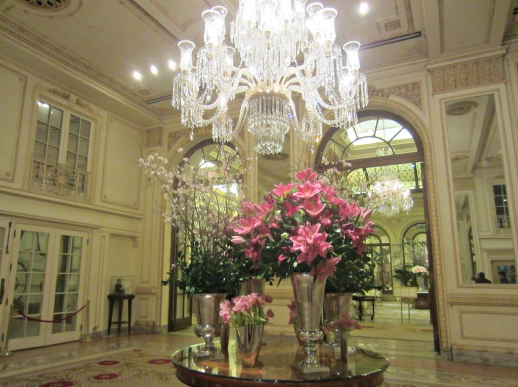 The Plaza Hotel lobby