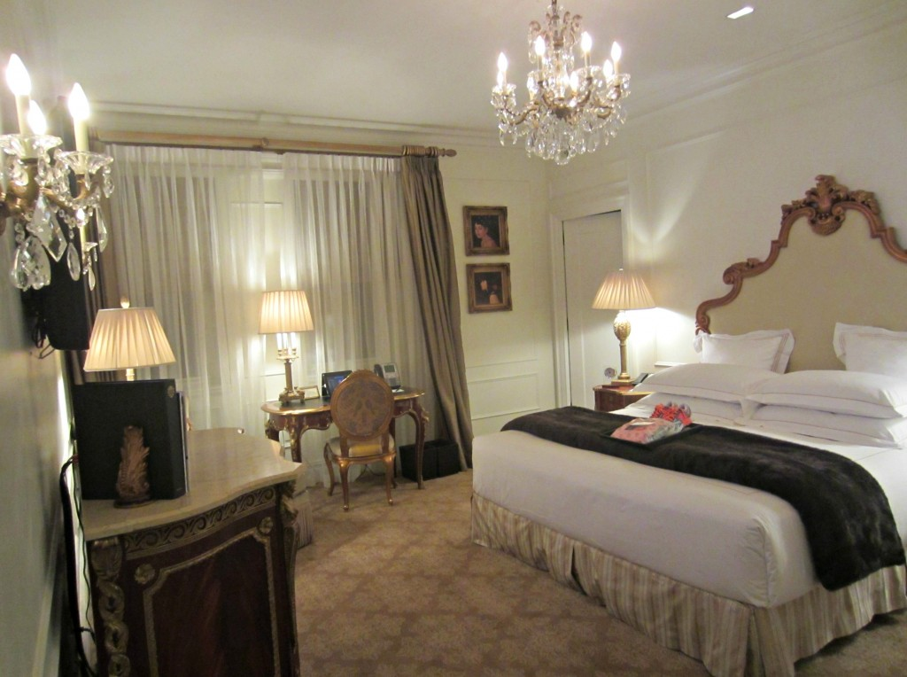 The Plaza Hotel room