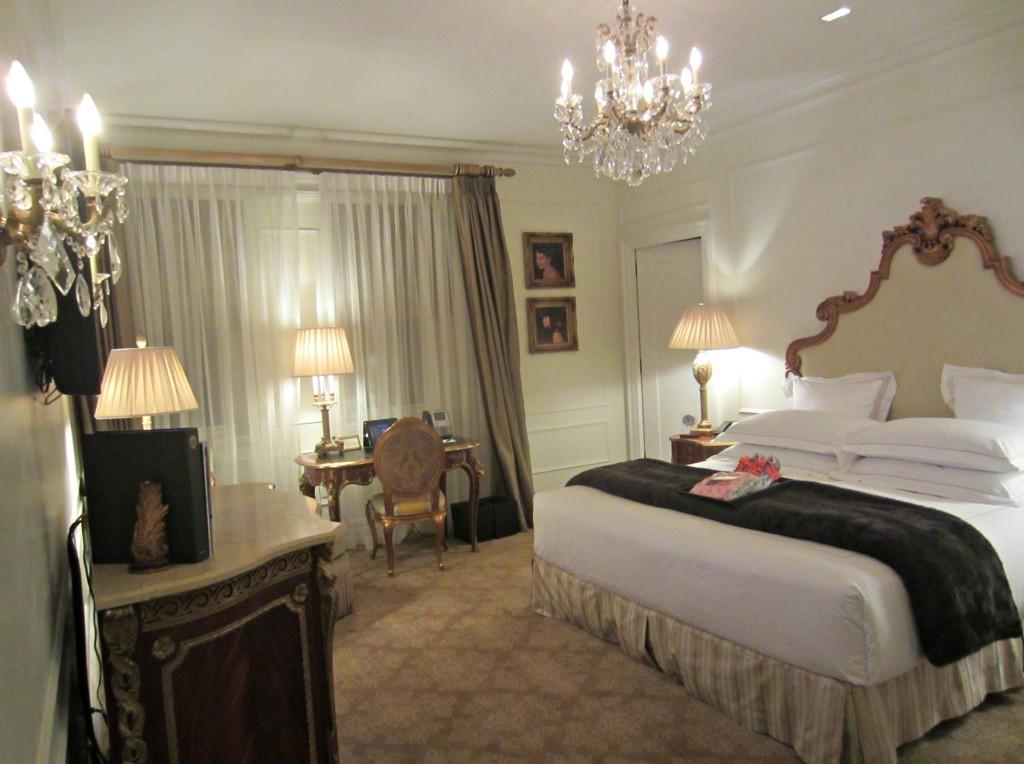 The Plaza Hotel room