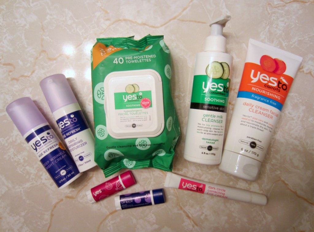 Yes To product haul housewife glamour