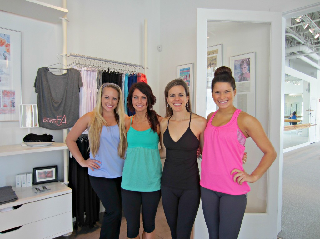 barre54 with friends