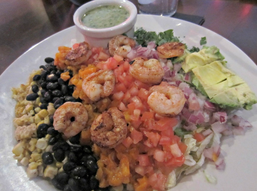cantina diablos royal oak chop salad with shrimp