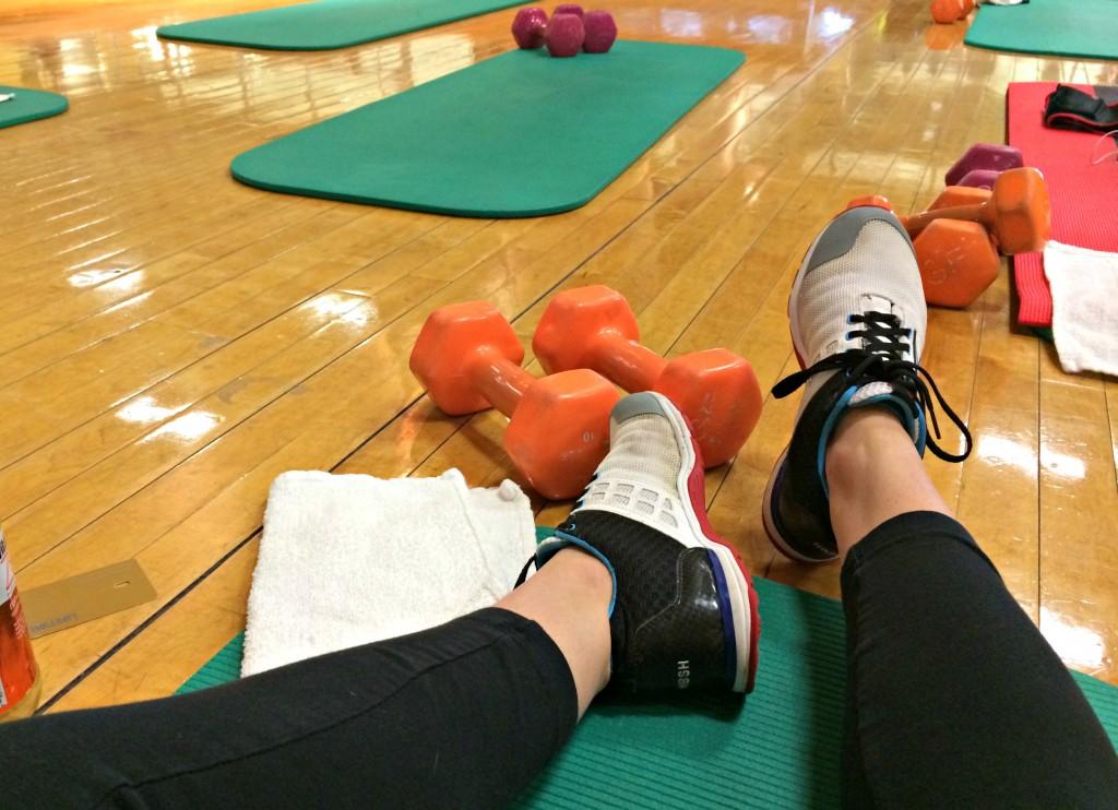 fitness pilates class