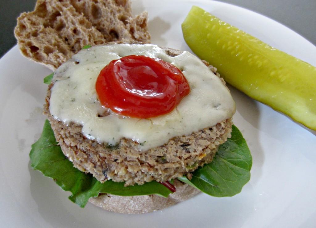 organic GMO free veggie burger