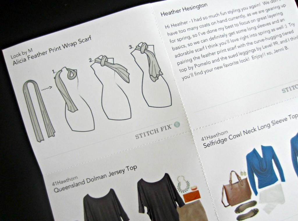 stitchfix style guide scarf