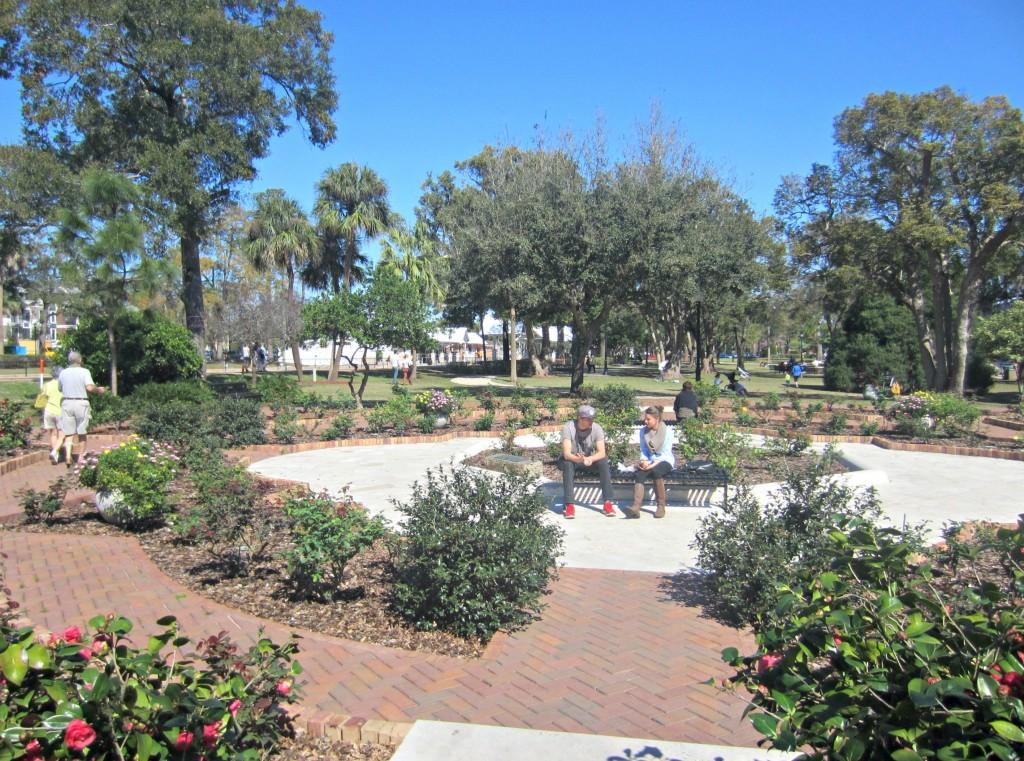 winter park ave rose garden