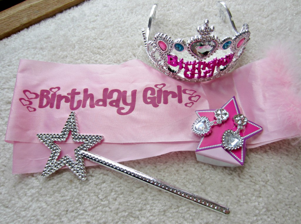 Birthday Girl tiara set