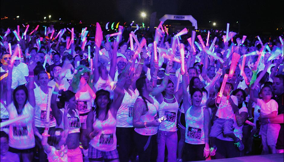 Neon Dash Race photos