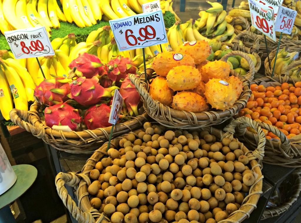 Nino Salvaggio Internatinoal Marketplace exotic fruit