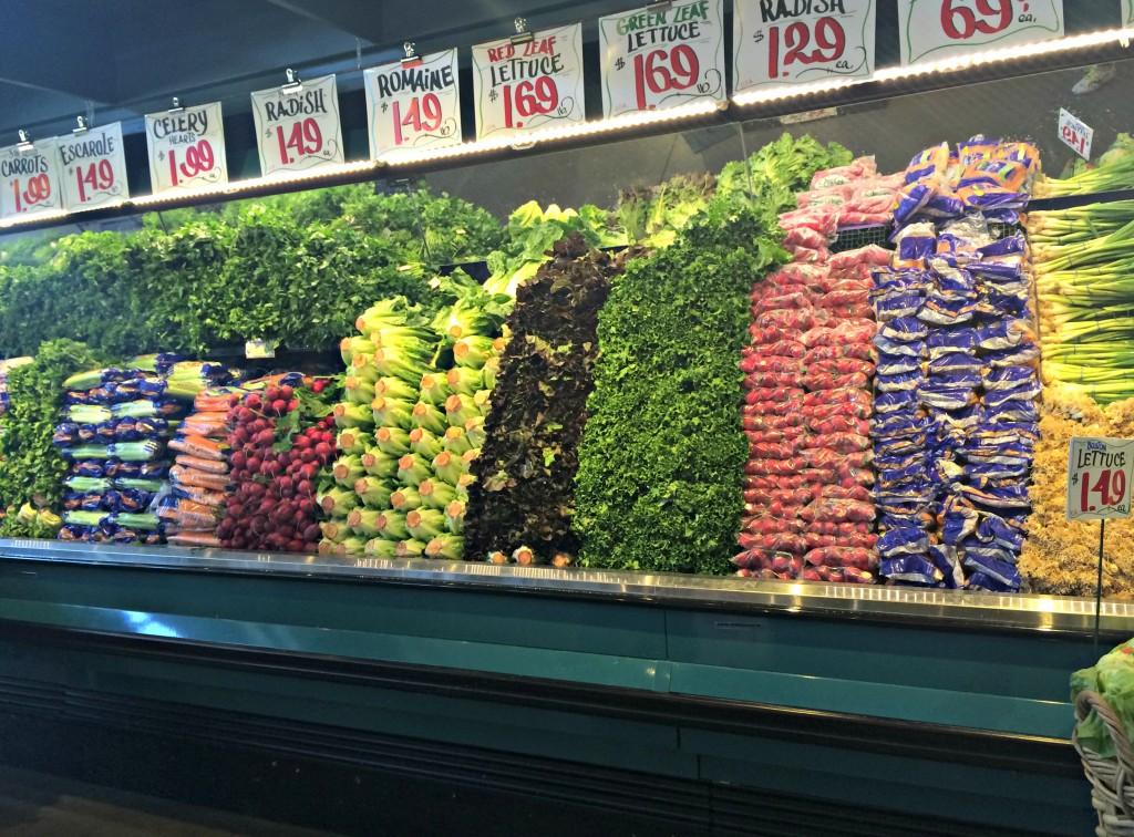 Nino Salvaggio Internatinoal Marketplace fresh vegetables