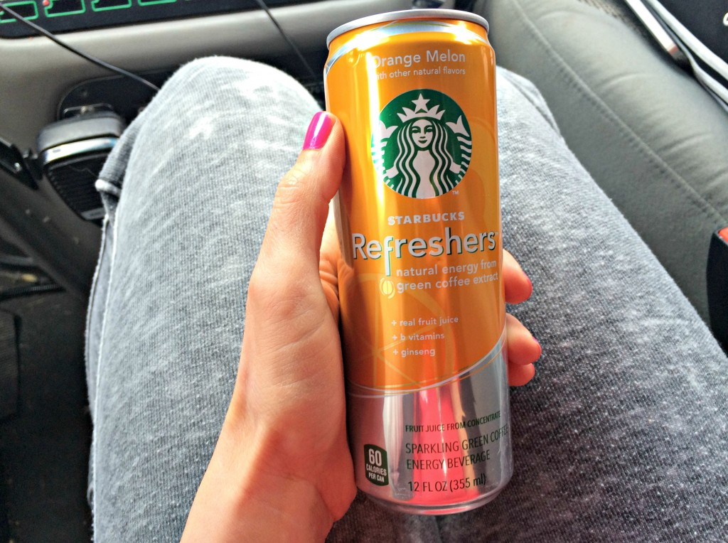 Starbucks orange melon refresher