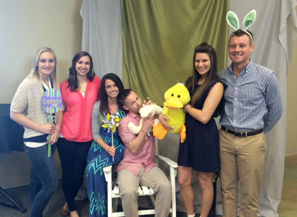 funny group easter photo 2014