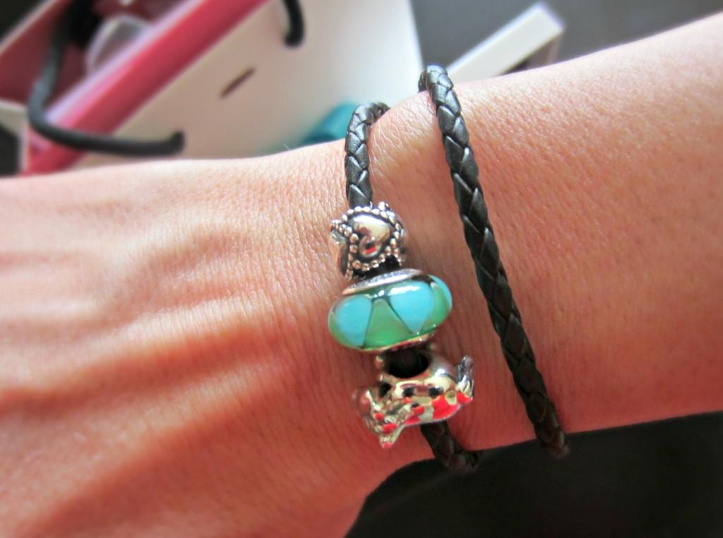 pandora braided bracelet