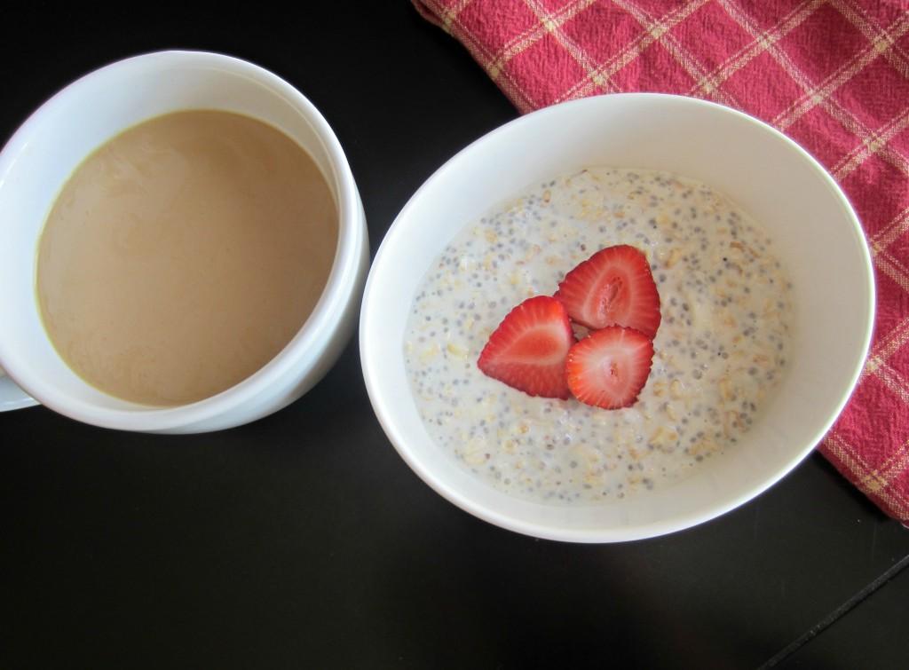 plain overnight oats