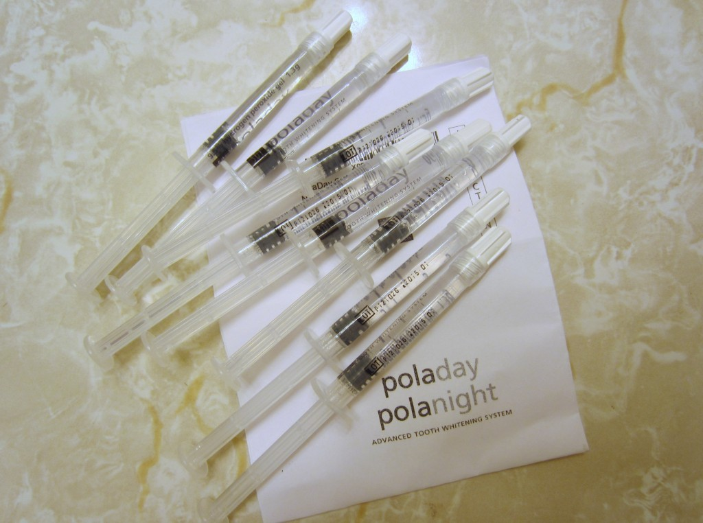 poladay polanight whitening gel refills